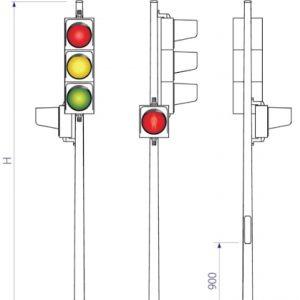 đèn giao thông mdc-01