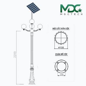 cột đèn mdc 15-01